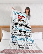 "Es - Hb Marrying  Large Fleece Blanket - 60"" x 80"" aos-coral-fleece-blanket-60x80-lifestyle-front-11"