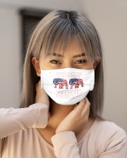trump elephant 2020 mask Cloth Face Mask - 3 Pack aos-face-mask-lifestyle-18