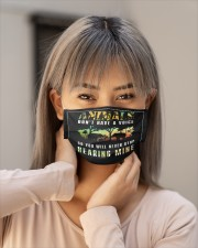 elephant animals dont have a voice so you mask Cloth Face Mask - 3 Pack aos-face-mask-lifestyle-18