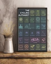 THE CYCLING ALPHABET 11x17 Poster lifestyle-poster-3