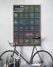 THE CYCLING ALPHABET 11x17 Poster lifestyle-poster-7