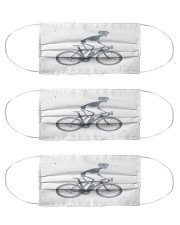 cycling x ray bike mask Cloth Face Mask - 3 Pack front