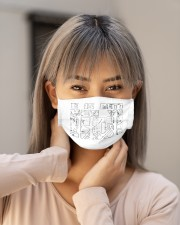 cycling 4 mask Cloth Face Mask - 3 Pack aos-face-mask-lifestyle-18