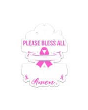 Breast Cancer Gift Sticker - Single (Vertical) front