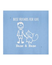 best friends for life name and name boy and mask Cloth face mask aos-face-mask-coverlet-lifestyle-front-02