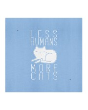 less humans more cats mask Cloth face mask aos-face-mask-coverlet-lifestyle-front-02