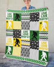 "BIGFOOT BLANKET Fleece Blanket - 50"" x 60"" aos-coral-fleece-blanket-50x60-lifestyle-front-02"