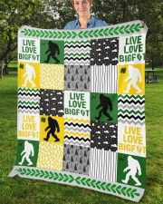 "BIGFOOT BLANKET Fleece Blanket - 50"" x 60"" aos-coral-fleece-blanket-50x60-lifestyle-front-02b"