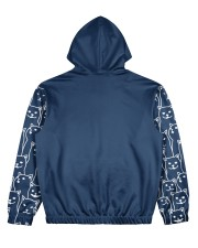 Cat 4 All Over Print Hoodie Women's All Over Print Hoodie back