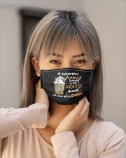 s01 0715 coffee and dogs mask Cloth Face Mask - 5 Pack aos-face-mask-lifestyle-18