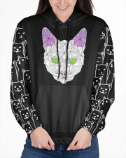 nanacat undefined Women's All Over Print Hoodie aos-complex-women-hoodie-lifestyle-front-03