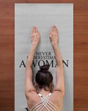 Yoga Woman v2 04-16829440 Yoga Mat 24x70 (vertical) aos-yoga-mat-lifestyle-23