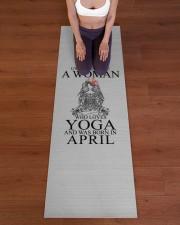 Yoga Woman v2 04-16829440 Yoga Mat 24x70 (vertical) aos-yoga-mat-lifestyle-24
