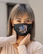 bulldog american flag mask Cloth Face Mask - 5 Pack aos-face-mask-lifestyle-18
