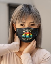 cycling my best friend may not be my sister mask Cloth Face Mask - 3 Pack aos-face-mask-lifestyle-18