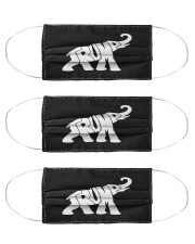 trump in the elephant mask Cloth Face Mask - 3 Pack front