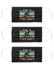 simple dad cycling mask Cloth Face Mask - 3 Pack front