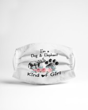 im a dog and elephant kind of girl mask Cloth Face Mask - 3 Pack aos-face-mask-lifestyle-22