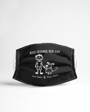 best friends and dogs name mask Cloth Face Mask - 3 Pack aos-face-mask-lifestyle-22