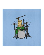 cat plays drums mask Cloth face mask aos-face-mask-coverlet-lifestyle-front-02