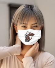 groot hug demodog mask Cloth Face Mask - 3 Pack aos-face-mask-lifestyle-18
