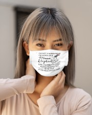 im not mama bear im more of a mama elepha mask Cloth Face Mask - 3 Pack aos-face-mask-lifestyle-18