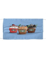 catpuccino coffee 1 mask Cloth face mask front