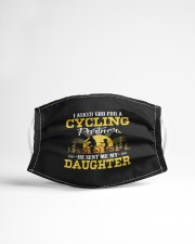 dad and daughter cycling partners funny tsh mask Cloth Face Mask - 3 Pack aos-face-mask-lifestyle-22