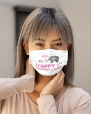 elephant youre doing a great job mommy hap mask Cloth Face Mask - 3 Pack aos-face-mask-lifestyle-18