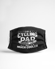 i am a cycling dad just like a normal dad b mask Cloth Face Mask - 3 Pack aos-face-mask-lifestyle-22
