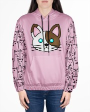 cat eng wom just 06 Women's All Over Print Hoodie aos-complex-women-hoodie-lifestyle-front-01