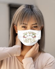 best vintage hold my drink i gotta pet this mask Cloth Face Mask - 3 Pack aos-face-mask-lifestyle-18