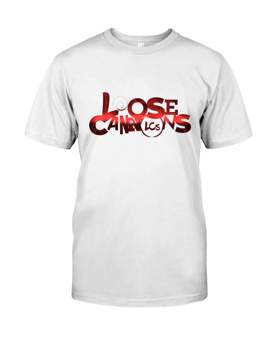 Loose Cannons Scarlet Logo Classic T-Shirt