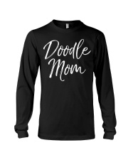 Womens Funny Golden Doodle Gift for Poodle Long Sleeve Tee thumbnail