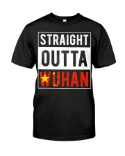 Straight Outta Wuhan Hubei China Tourist So Premium Fit Mens Tee thumbnail