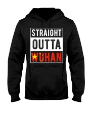 Straight Outta Wuhan Hubei China Tourist So Hooded Sweatshirt thumbnail