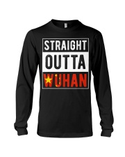 Straight Outta Wuhan Hubei China Tourist So Long Sleeve Tee thumbnail
