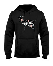 Womens Mama Goat Floral T Shirt Mom Lover  Hooded Sweatshirt thumbnail