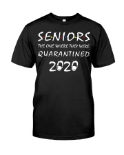 Seniors The One Where They Were Quarantine Classic T-Shirt front
