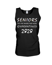 Seniors The One Where They Were Quarantine Unisex Tank thumbnail