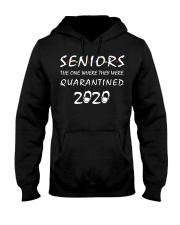 Seniors The One Where They Were Quarantine Hooded Sweatshirt thumbnail
