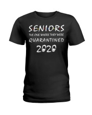Seniors The One Where They Were Quarantine Ladies T-Shirt thumbnail