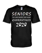 Seniors The One Where They Were Quarantine V-Neck T-Shirt thumbnail