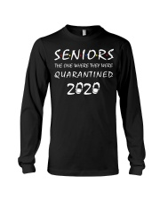 Seniors The One Where They Were Quarantine Long Sleeve Tee thumbnail