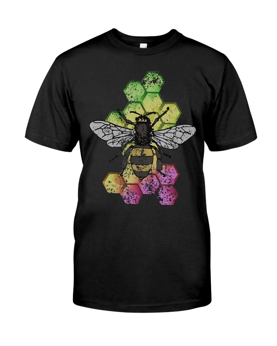 Honey Bee Beekeeping Shirt Vintage Premium Fit Mens Tee