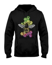 Honey Bee Beekeeping Shirt Vintage Hooded Sweatshirt thumbnail