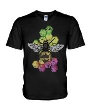 Honey Bee Beekeeping Shirt Vintage V-Neck T-Shirt thumbnail