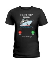 Womens Cruise Ship Is Calling And I Must G Ladies T-Shirt thumbnail