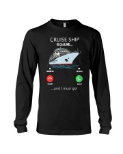 Womens Cruise Ship Is Calling And I Must G Long Sleeve Tee thumbnail