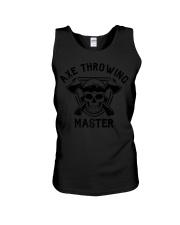 Axe Throwing Master Funny Retro Lumberjack Unisex Tank thumbnail